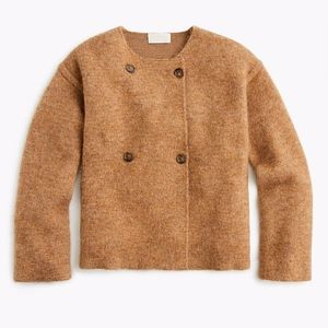 NWT J Crew Collection Jacket Collarless Coat